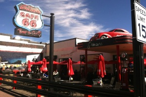 Cruiser's Rt. 66 Cafe in Williams, Arizona is a fun stop for the whole family on the Flagstaff- Grand Canyon Ale Trail